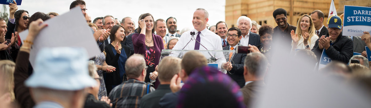 Darrell Steinberg Mayor of Sacramento 2020